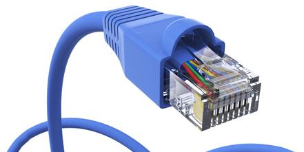 Netzwerkkabel Hintergrundbild